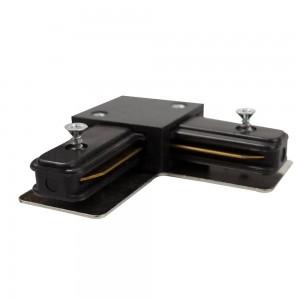 Track line conector 90° Black WJ-LC03