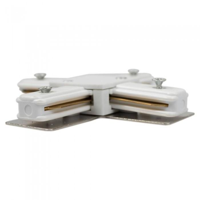 Track line conector 4x90° White