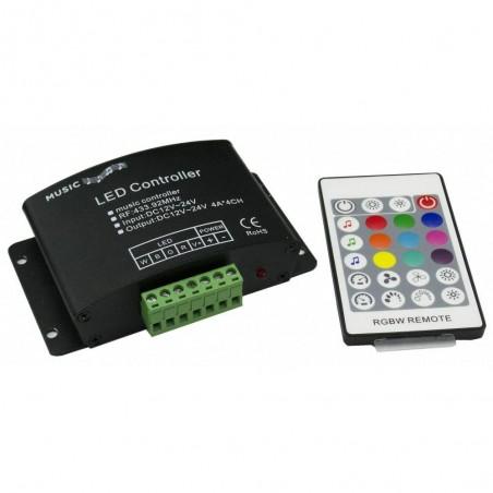 RGBW Audion controller HX-AUDIO-RGBW-RF24K