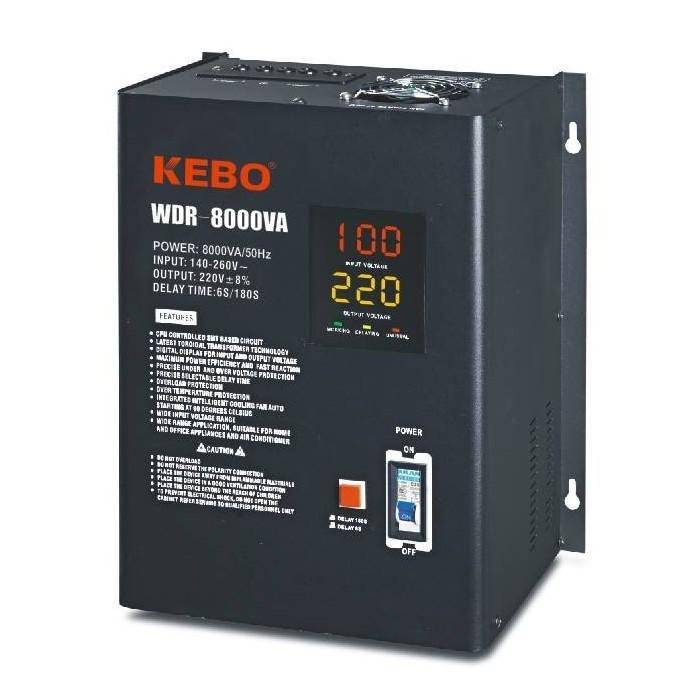 AVR Stabilizator de tensiune 8000VA, WDR-8000VA