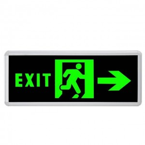 Emergency Fire Sign light Arrow S513