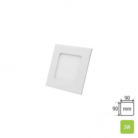 Square Ceiling Panel TS-P0103 (3W)
