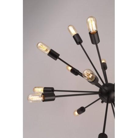 Pendant Iron Lamp BK1033-P-18L