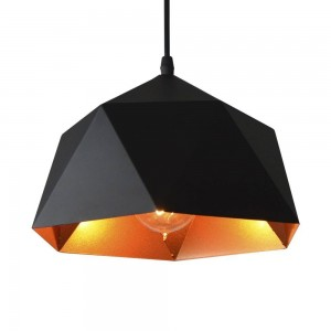 Pendant Iron Lamp BK1184-P-1L BLACK