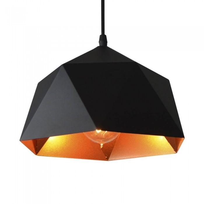 Pendant Iron Lamp BK1184-P-1L BLACK