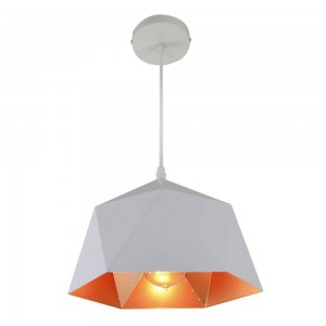 Pendant Iron Lamp BK1184-P-1L WHITE