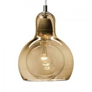 Pendant Glass Lamp BK2001-P-S AMBER dia.18cm*H22cm
