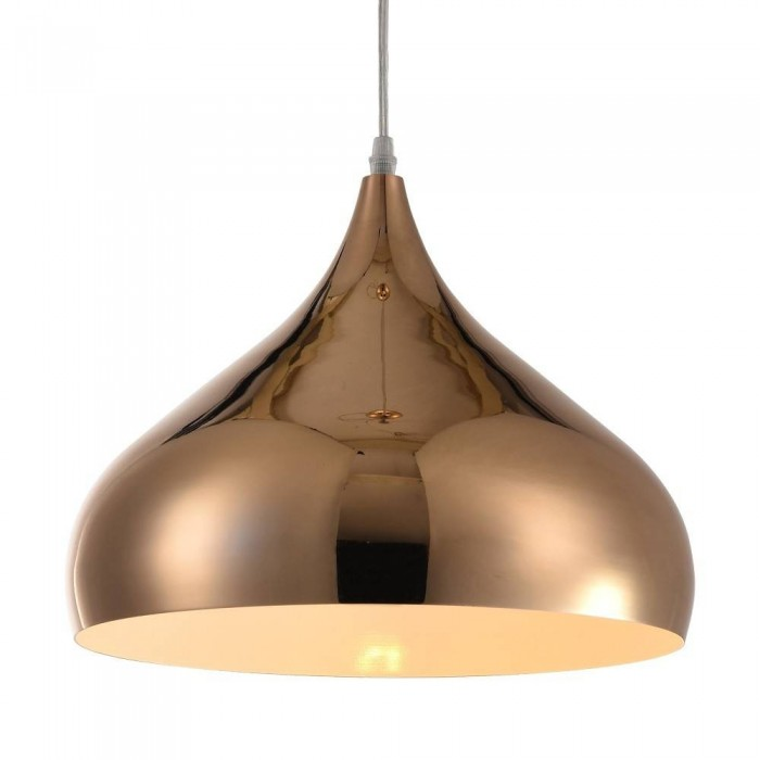 Iron Pendant Lamp F4705/1 (320mm)  GD+WH GOLD
