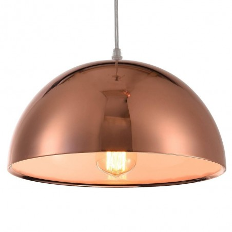 Iron Pendant Lamp F4707/1 (300mm)  RS+WH ROSE