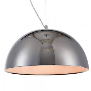 Iron Pendant Lamp F4708/1 (400mm) GD+WH GOLD