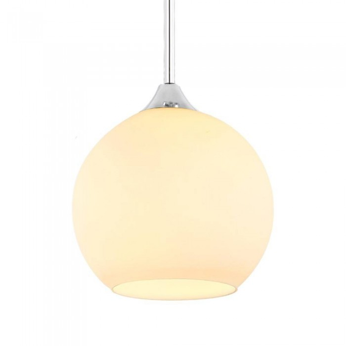 Glass Pendant Lamp 32015/1-250mm WHITE