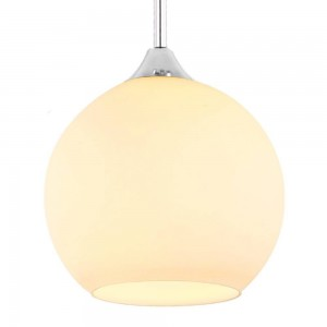 Glass Pendant Lamp 32015/1-300mm WHITE