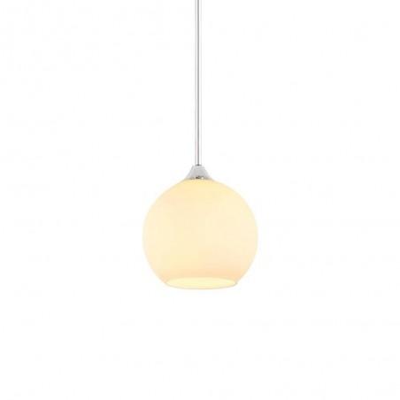 Glass Pendant Lamp 32015/1-160mm WHITE