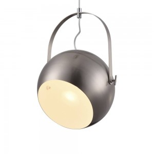 Iron Pendant Lamp F6302/1-250mm Sandnickel