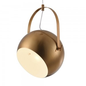 Iron Pendant Lamp F6302/1-250mm Golden tan