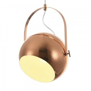 Iron Pendant Lamp F6302/1-250mm Red sand color