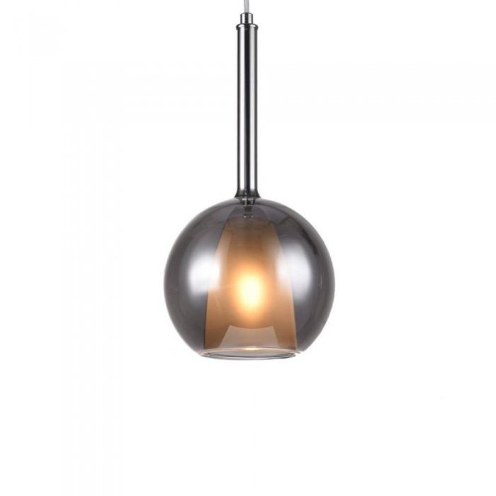 Glass Pendant Lamp F4792/1-180mm  (smoky)