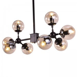 Pendant glass Lamp BK2027-C-8L