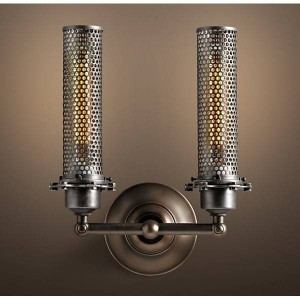 Wall Iron Lamp BK1066B-W-2L