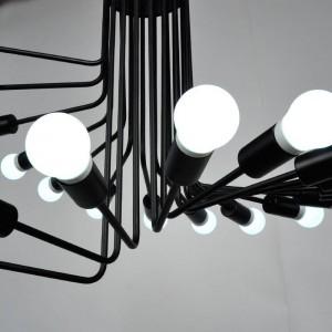 Pendant Iron Lamp BK1112-P-26L