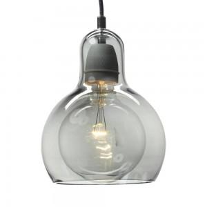Pendant Glass Lamp BK2001-P-S SMOKEY GREY dia.11cm*H14.5cm