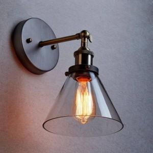Aplică de perete sticlă BK2003-W-1L