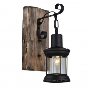 Wall Wood lamp BK3027-W-1L