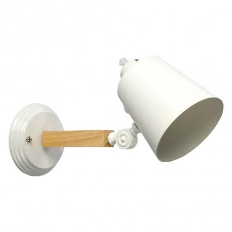 Aplică de perete metal MB6076/1 alb