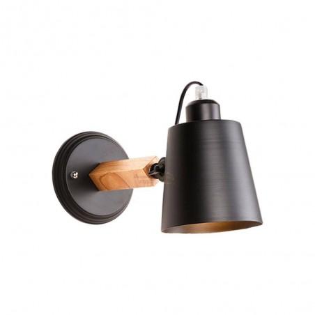 Aplică de perete metal MB6076/1 negru