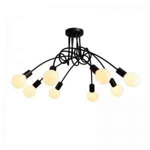 Ceiling Iron lamp BK1061-C-8L