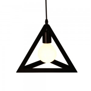 Pendant Iron Fitting housing F4856/1  small, black