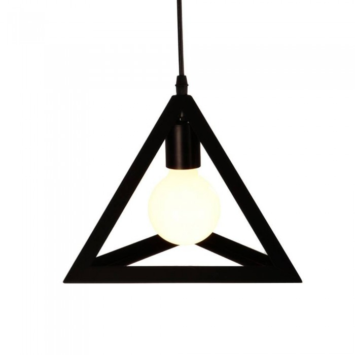 Pendant Iron Fitting housing F4857/1  big, black