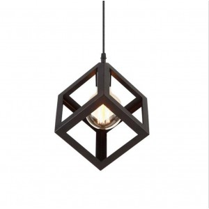 Pendant Iron Fitting housing F4858/1, black