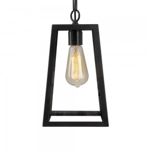 Pendant Iron Fitting housing F4860/1, black