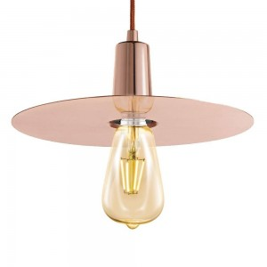 Pendant Iron Fitting housing F6127/1  rose gold