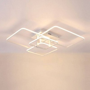 Ceiling Decor ACRILYC 1708 (60W / 4000K WHITE / 780*600*220mm)