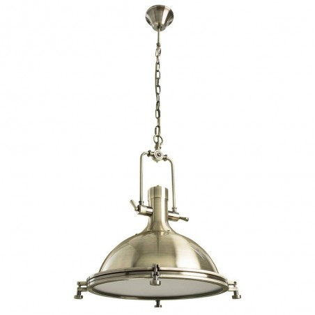 Pendant Iron lamp BK1127-P-1L (plated bronze)