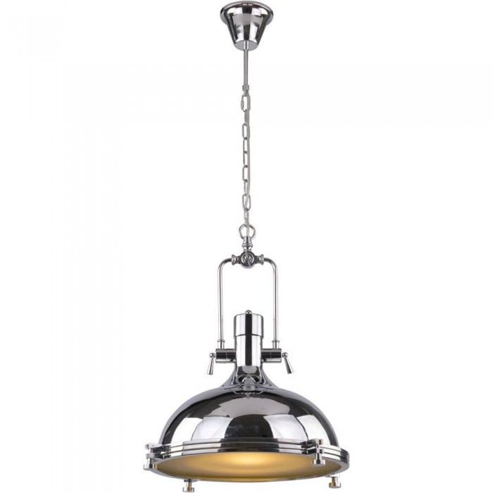 Pendant Iron lamp BK1128-P-1L (plated chrome)