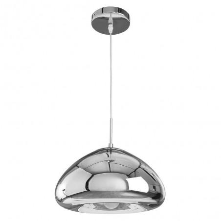 Pendant Glass Lamp BK2021-P-L SILVER dia.30cm*H16.5cm
