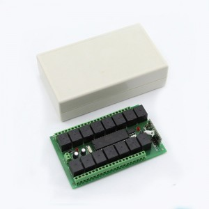 DC12V 433MHZ 4CH controller and rf remote ABCD KL-K400C,KL180-4