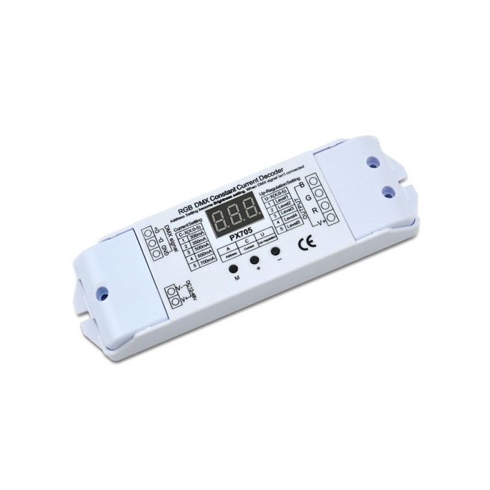 DMX decoder 3ch*700mA PX705