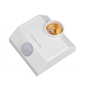 R138 human sensor lampholder 2 wire