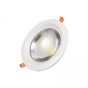 COB Down light Round TS-C0320 20W D:168 H:60 Cut:145