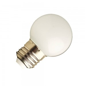 Festoon bulb G45 1W E27 Color