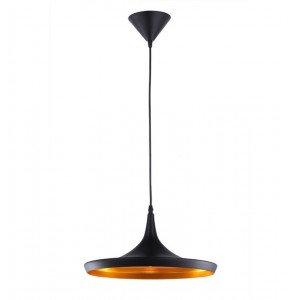 Pendant Iron Fitting housing C1516/1 black/copper