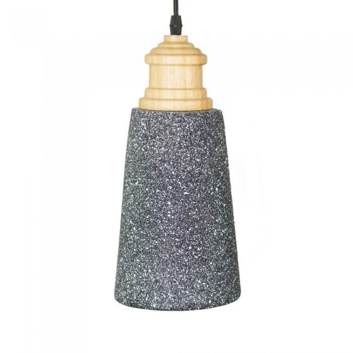 Pendant concret Fitting housing F4545/1 black+white point