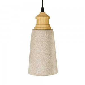 Pendant concret Fitting housing F4545/1 grey stone