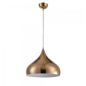 Pendant glass Fitting housing F4702/1 rose gold
