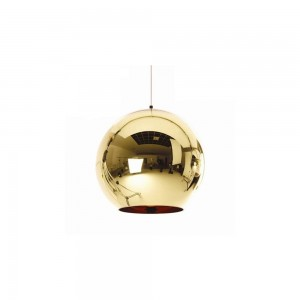 Pendant glass Fitting housing F6188/1-200mm gold