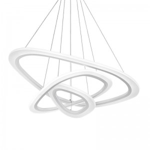 Pendant 3 ACRILYC TRIANGLE 90W, 4000K, 88+64+43+25mm, 1075